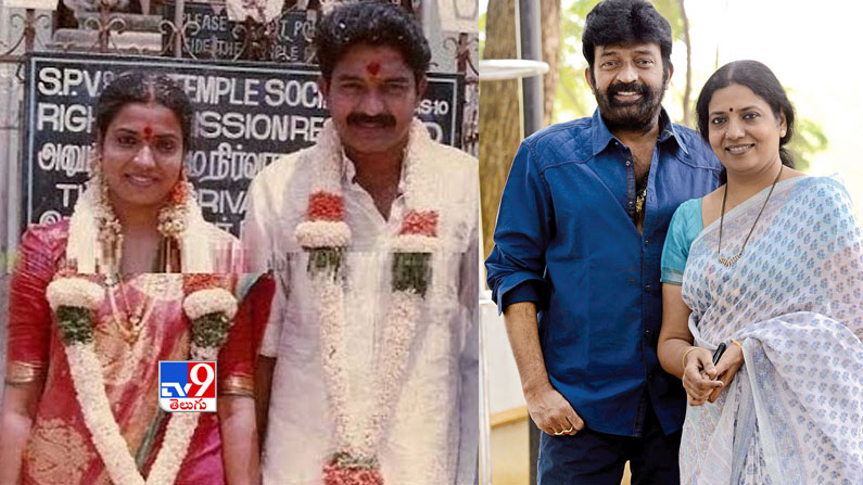 jeevitha rajashekar 1 Valentine's Day Special Photos: Tollywood's top heroes who turned love into marriage ... That bond is today.  - love marriage couples in tollywood photos