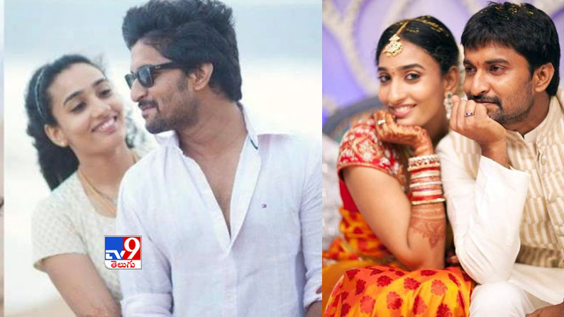 nani 3 Valentine's Day Special Photos: Tollywood's top heroes who turned love into marriage ... That bond is today.  - love marriage couples in tollywood photos