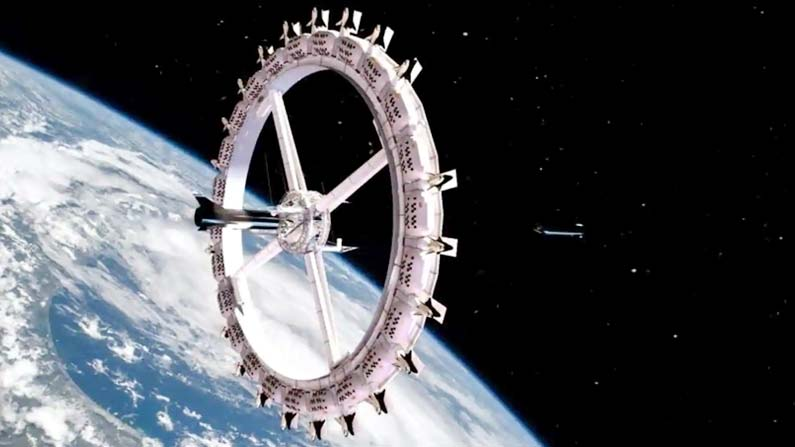 1 29 Hotel in space with creepy amenities .. When to start ..