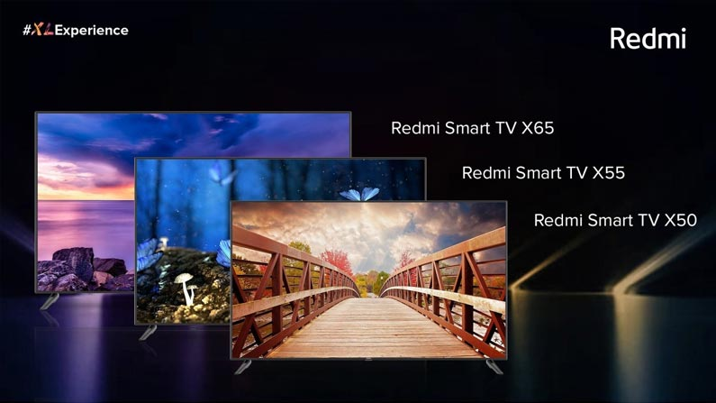 3 50 RedMi Smart TV: Redmi has released three new smart TVs .. If you know the features, you should pay .. - Chinese Company Xiaomi Introduce 3 Different TVs In Redmi In X Series