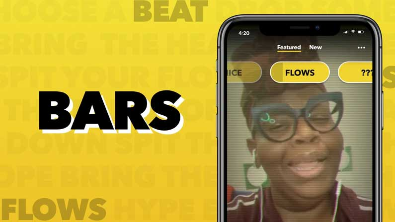 4 1 Facebook New APP: Facebook brings new app for short video lovers .. - Facebook launches BARS App For Rap Based Short Videos
