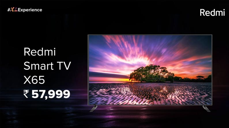 5 47 RedMi Smart TV: Redmi has released three new smart TVs .. If you know the features, you should pay .. - Chinese Company Xiaomi Introduce 3 Different TVs In Redmi In X Series