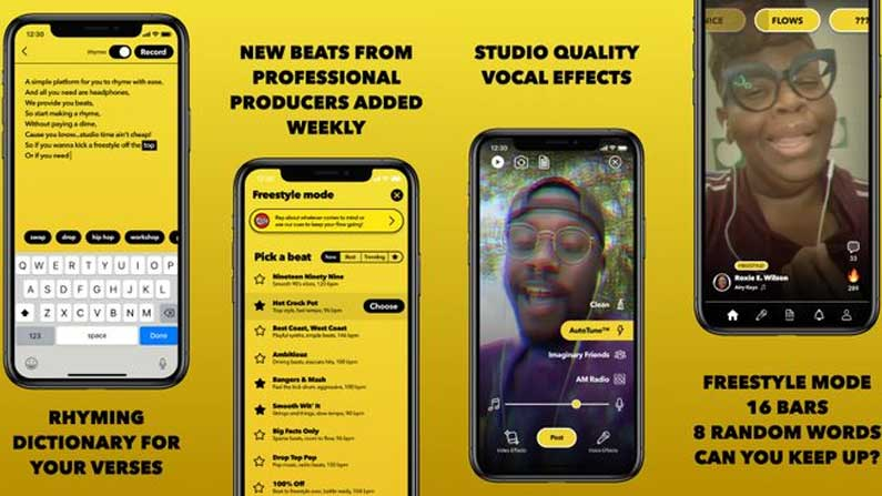 5 Facebook New APP: Facebook brings new app for short video lovers .. - Facebook launches BARS App For Rap Based Short Videos