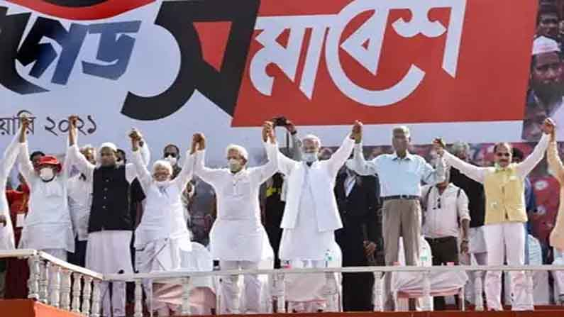 Bengal politics Left-Congress-ISF grand alliance formed in West Bengal assembly elections - Left-Congress-ISF grand alliance