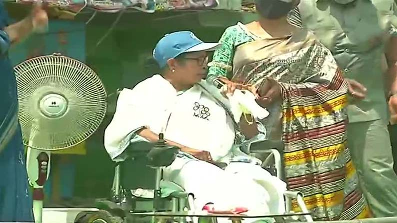 Mamata Nandigram Road Show West Bengal Assembly elections: BJP, TMC contest campaign .. Amit Shah, Mamata road show in Nandigram - West Bengal Election 2021: nandigram constituency election campaign to end today both tmc and bjp road show