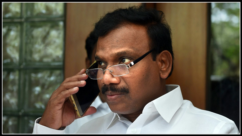 Aiadmk Asks Ec Not To Allow A Raja To Campaign