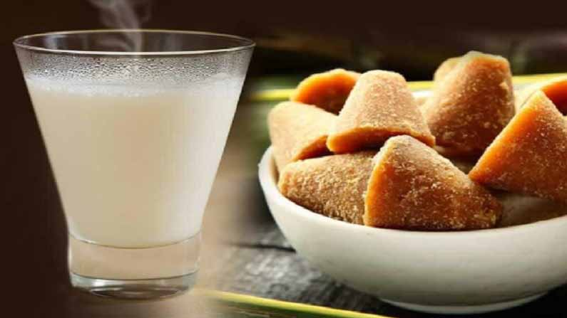 Jaggery Milk Health Benefits