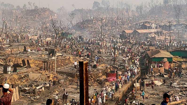 Rohingya Camp Bangladesh