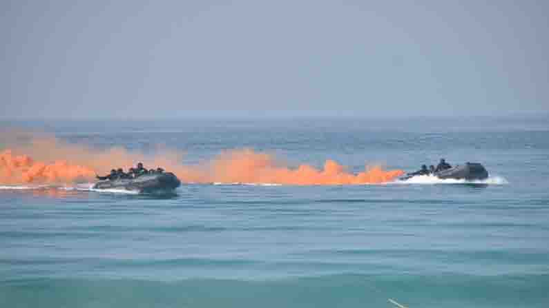 spectacular operational demonstration by Command at Swaraj