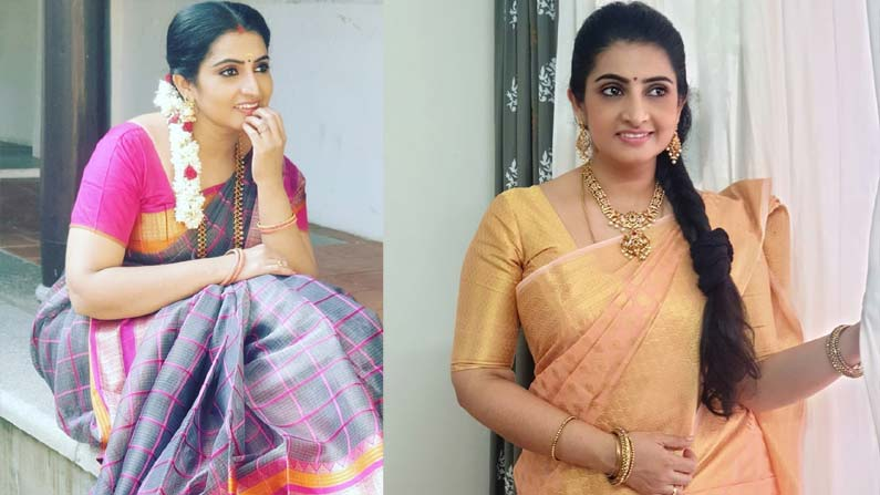 sujeetha 4 Vadinamma Serial Actress Sujitha: Interesting Facts About 'Vadinamma' Fame Sujitha (Sita) ... Beautiful Photos .. - vadinamma serial actress sujitha dhanush know details about her