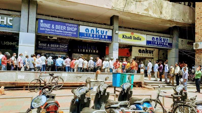 Delhi Lock Down Effect