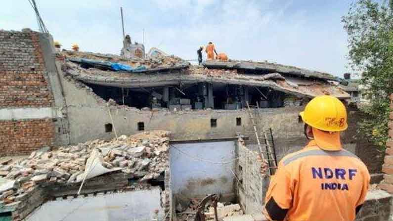 Ludhiana Building Collapse 1