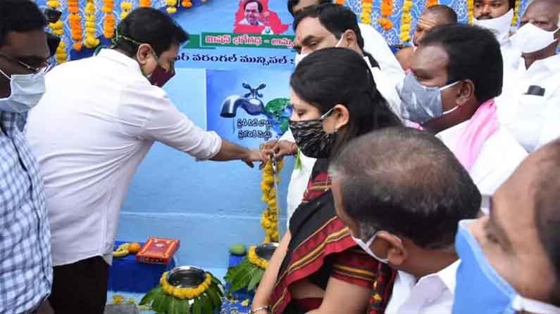 Minister Ktr In Warangal 1