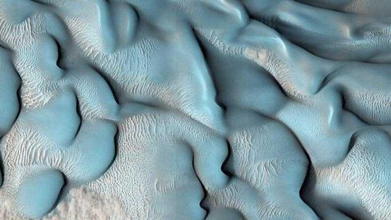 Blue Dunes On Mars 4