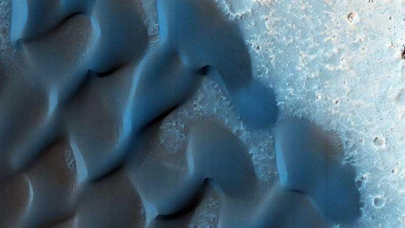 Blue Dunes On Mars 6