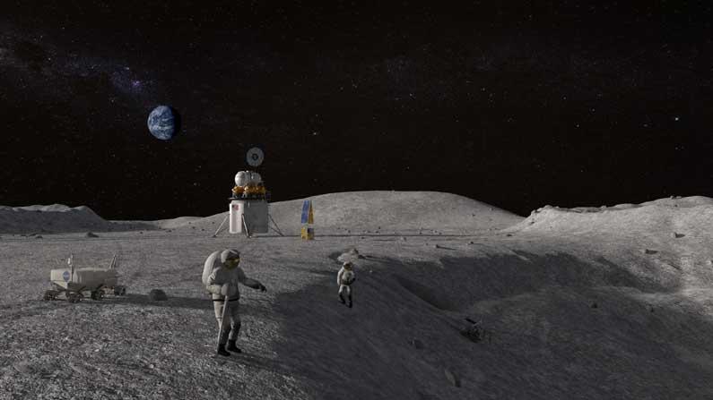 Nasa Moon Mission 1