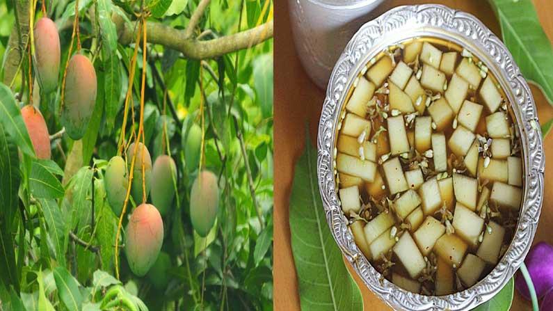 Ugadi Pacchadi Mangoes