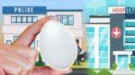 Trouble with Egg: ఒకే ఒక్క గుడ్డు.. ఒకరిని ఆసుపత్రికి.. మరొకర్ని పోలీస్ స్టేషన్ కి చేర్చింది.. ఎలాగంటే..